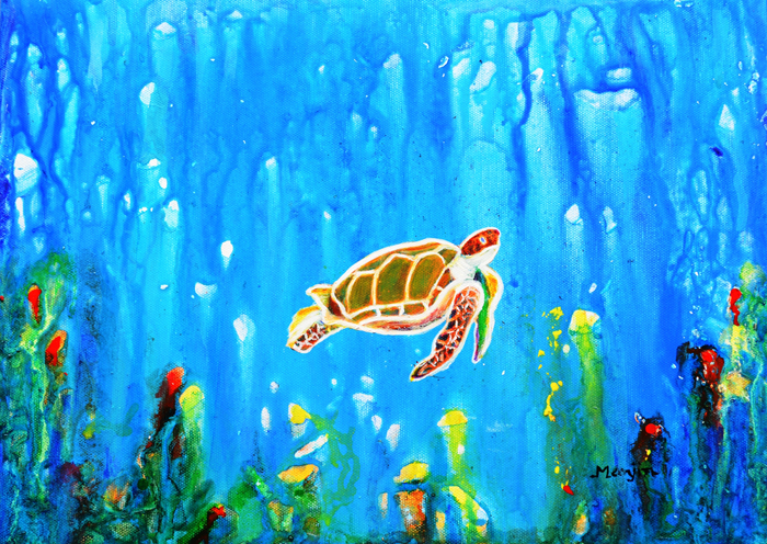 UNDERWATER MAGIC 5 HAPPY TURTLE