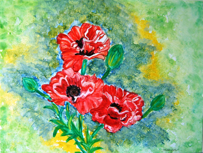 ELEGANT POPPIES